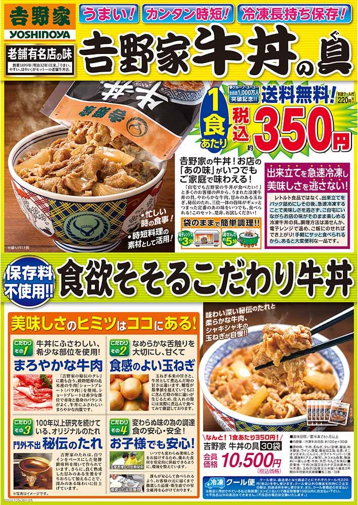 吉野家 牛丼の具(30袋組)